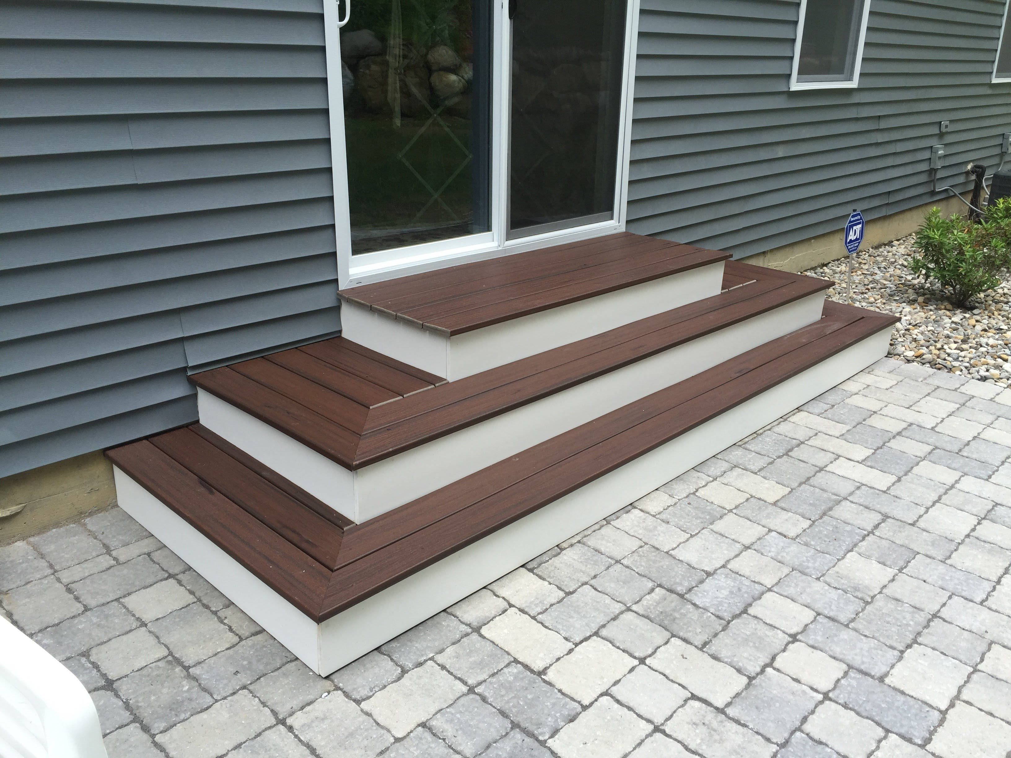 Rear Patio Steps