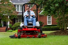 Exmark Mowing Grass